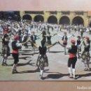 Postales: POSTAL - 71 - BARCELONA - SARDANAS EN EL 'PUEBLO ESPAÑOL' DE MONTJUICH - ED. BERGAS. Lote 169188604