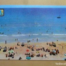 Postales: POSTAL - 451 - SALOU (TARRAGONA) - PLAYA - ED. FISA - ESCUDO DE ORO. Lote 169292444