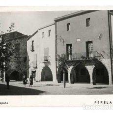 Postales: LLEIDA GRANADELLA PLAÇA DEL GENERALISSIM FOTO SENTÍS. POSTAL FOTOGRÁFICA. ESCRITA. Lote 169329432