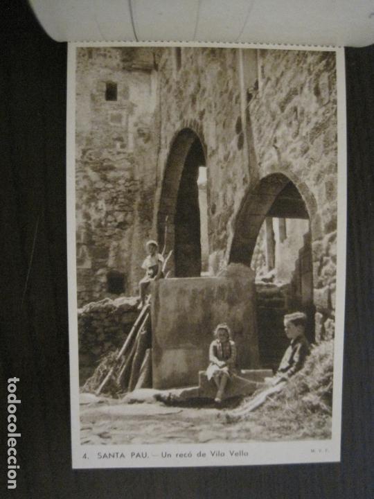 Postales: SANTA PAU-GIRONA-BLOC AMB 6 POSTALS-HUECOGRABADO RIEUSSET-VEURE FOTOS-(60.896) - Foto 5 - 169339536