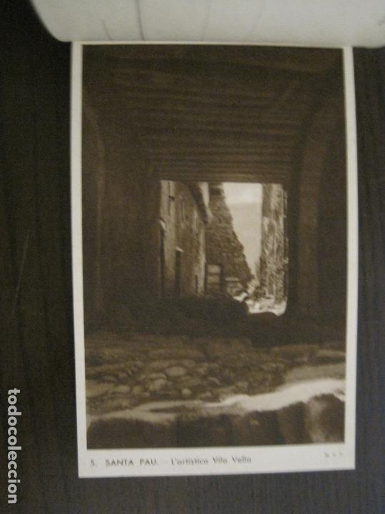 Postales: SANTA PAU-GIRONA-BLOC AMB 6 POSTALS-HUECOGRABADO RIEUSSET-VEURE FOTOS-(60.896) - Foto 6 - 169339536