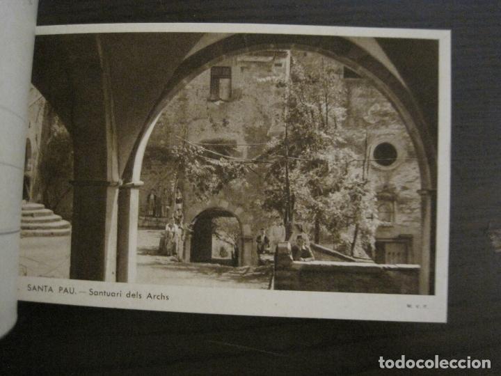 Postales: SANTA PAU-GIRONA-BLOC AMB 6 POSTALS-HUECOGRABADO RIEUSSET-VEURE FOTOS-(60.896) - Foto 7 - 169339536
