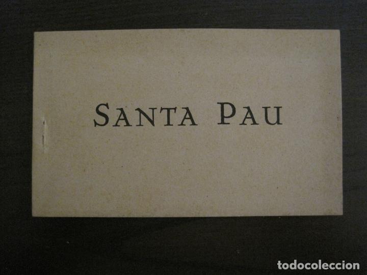 SANTA PAU-GIRONA-BLOC AMB 6 POSTALS-HUECOGRABADO RIEUSSET-VEURE FOTOS-(60.896) (Postales - España - Cataluña Antigua (hasta 1939))