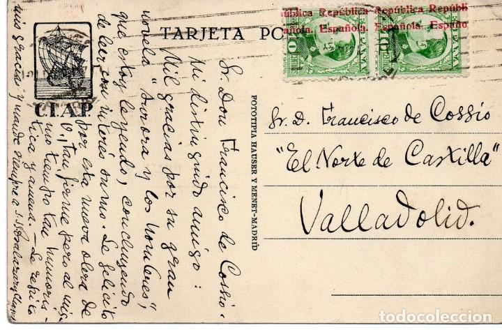 Postales: POSTAL COMERCIO, PUBLICIDAD LIBRERIA BARCELONA , ORIGINAL - Foto 2 - 169342640