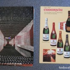 Postales: COLECCIÓN PUBLICIDAD CARPETA Y 8 POSTALES CODORNIU AÑO 1976. Lote 169502116