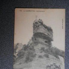 Cartoline: LA GARROTXA ROCACORVA POSTAL ANTIGUA ENSENYANÇA CATALANA Nº 174. Lote 169502168