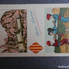 Postales: POSTAL CATALANISTA ANTIGUA AÑO 1931. Lote 169502176