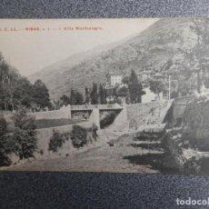 Postales: RIBAS VILLA MONTEALEGRE POSTAL ANTIGUA. Lote 169502200