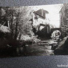 Postales: SAN FELIU DE PALLAROLS PONT DEL RIUBRUGENTS POSTAL FOTOGRÁFICA ANTIGUA. Lote 169502244