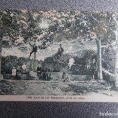Postales: SANT JOAN DE LES ABADESSES FONT DEL CUBILÁ POSTAL ANTIGUA. Lote 169502256