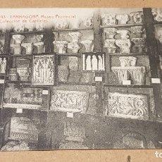 Postales: A.T.V. - 2193 / TARRAGONA / MUSEO PROVINCIAL - CAPITELES / SIN CIRCULAR / DE LUJO.. Lote 169601920