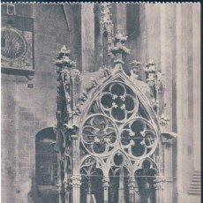 Postales: POSTAL TARRAGONA - MONASTERIO DE SANTES CREUS - SEPULCRO DE DON JAIME II DE ARAGON - THOMAS 12437 . Lote 169883536
