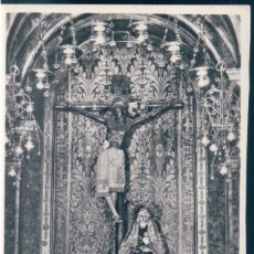 Postales: POSTAL CATEDRAL DE BARCELONA - IMAGEN DEL SANTO CRISTO DE LEPANTO - ZERKOWITZ. Lote 169883856