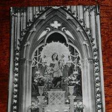 Postales: FOTO POSTAL DE CARDONA N. 33, VIRGEN DEL PATROCINIO, PATRONA DE LA VILLA, CIRCULADA.. Lote 170097820