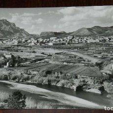 Postales: FOTO POSTAL DE OLESA DE MONTSERRAT, VISTA GENERAL EXCL. M. BOADA, NO CIRCULADA.. Lote 170259788