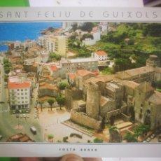 Postales: POSTAL SANT FELIU DE GUIXOLS COSTA BRAVA EN PRIMER TERME ESGLESIA PARROQUIAL TORRE DEL FUMY PORTA. Lote 170373384