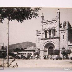 Postales: POSTAL FOTOGRÁFICA - CASTELLDEFELS. IGLESIA NTRA SRA DE LA SALUD, 5 - ED. FOTOGRAFÍA CUVÁS. Lote 170930295
