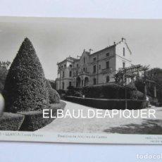 Postales: 11 LLANSA COSTA BRAVA. RESIDENCIA ALVAREZ DE CASTRO. FOTOS MELI. 1953. ESCRITA AL REVERSO. CCTT. Lote 170972203