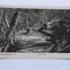 Postales: VALLGORGUINA 13. FONT DEL CLOT. 1940. CIRCULADA. CCTT. Lote 170973640