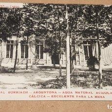 Postales: ARGENTONA / CASINO / PROPAGANDA MANANTIAL BURRIACH / FOTOTIPIA THOMAS / SIN CIRCULAR. LEER.. Lote 170994820