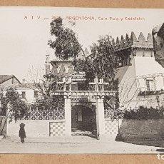Postales: A.T.V. - 2625 / ARGENTONA / CA'N PUIG Y CADAFALCH / SIN CIRCULAR. LEER.. Lote 170999918