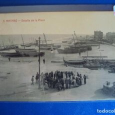 Postales: (PS-61179)POSTAL DE MATARO-DETALLE DE LA PLAYA.LA INDUST.FOTOGRAFICA. Lote 171013442