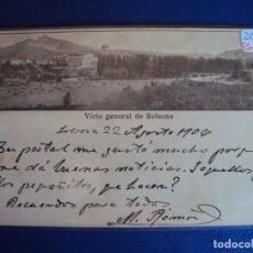 Postales: (PS-61116)POSTAL DE SOLSONA-VISTA GENERAL. Lote 171023595