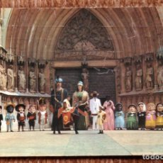 Postales: TARRAGONA - COMPARSA DE GIGANTES Y CABEZUDOS. Lote 171198249