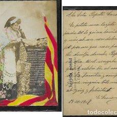 Postales: POSTAL ANY 1907 * BASES DE MANRESA *. Lote 171259012
