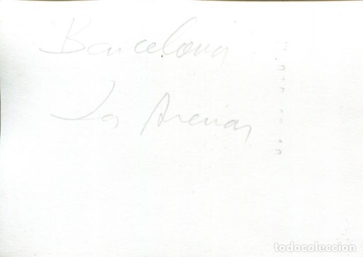 Postales: BARCELONA-GUARDIA URBANA A CABALLO-PLAZA DE LAS ARENAS- FOTOGRÁFICA- RARA - Foto 2 - 171262632