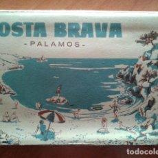 Postales: 10 P0STALES EN NEGRO - PALAMÓS / COSTA BRAVA. Lote 171360625