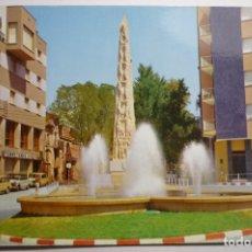 Postales: POSTAL VALLS -MONUMENTO XIQUETS DE VALLS Y FUENTE LUMINOSA.-ESCRITA. Lote 171373180