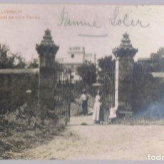 Postales: POSTAL SANT BOI DE LLOBREGAT ENTRADA PRINCIPAL DE CA´N TARRÉS. Lote 171412403