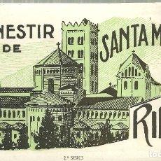Postales: C1.- MONESTIR DE SANTA MARIA DE RIPOLL -20 VISTAS 2ª SERIE - POSTALS. Lote 171439990