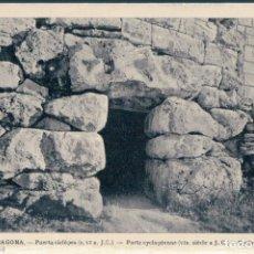 Postales: POSTAL TARRAGONA - PUERTA CICLOPEA - DEGEI. Lote 171497445