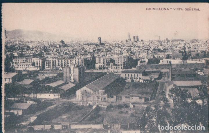 POSTAL BARCELONA - VISTA GENERAL (Postales - España - Cataluña Antigua (hasta 1939))