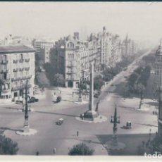 Postales: POSTAL BARCELONA - AVENIDA DEL GENERALISIMO FRANCO - EDITORIAL FOTOGRAFICA - CIRCULADA. Lote 171498589