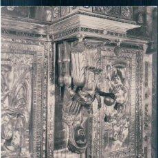 Postales: POSTAL MONTSERRAT 154 - LA VIRGEN EN SU TRONO - ARCHIVO DEL MONASTERIO. Lote 171516345