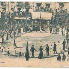 Postales: POSTAL OLOT BAILE AMPURDANÉS SARDANA . Lote 171524353