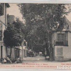 Postales: LOS PIRINEOS, 1ª SERIE. VALLE DE ARAN 447 LES AVENIDA DE LOS BAÑOS.. Lote 171528825