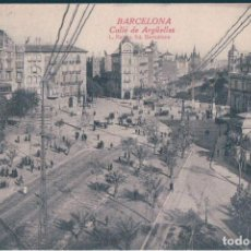Postales: POSTAL BARCELONA - CALLE DE ARGUELLES - ROISIN - CIRCULADA - SELLO ALFONSO XIII. Lote 171579869