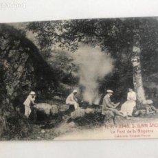 Postales: POSTAL DE SANT HILARI SACALM - ATV 2946 - FONT DE LA NOGUERA - COL· XIMENO PLANAS. Lote 171580498