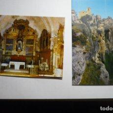 Postales: LOTE POSTALES SIURANA - IGLESIA. Lote 171636133