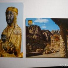 Postales: LOTE POSTALES MONTSERRAT ESCRITA Y CIRCULADA CM. Lote 171642597