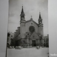 Postales: POSTAL VILLAFRANCA DEL PANADES- BASILICA STA.MARIA CM. Lote 171642623