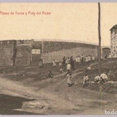 Postales: POSTAL OLOT PLASSA DE TOROS Y PUIG DEL ROSER . Lote 171742825