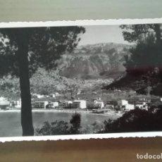 Postales: POSTAL SOLLER EL PUERTO CON LA PLAYA MALLORCA. Lote 171790187