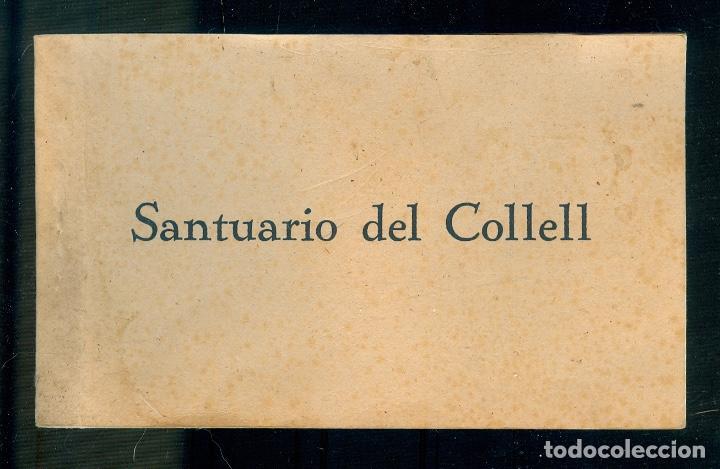 NUMULITE POSTAL 0045 SANTUARIO DEL COLLEL 12 POSTALES HUECOGRABADO RIEUSSET BARCELONA (Postales - España - Cataluña Antigua (hasta 1939))