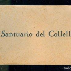 Postales: NUMULITE POSTAL 0045 SANTUARIO DEL COLLEL 12 POSTALES HUECOGRABADO RIEUSSET BARCELONA. Lote 172021193