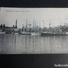 Postales: BARCELONA PUERTO VISTA PARCIAL. Lote 172057154